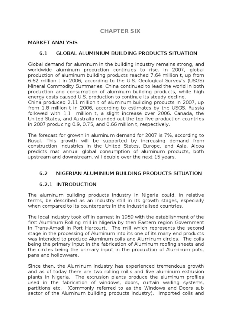 national documentation package for nigeria