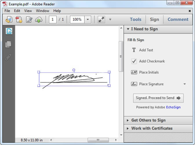 how do i print a document from adobe reader
