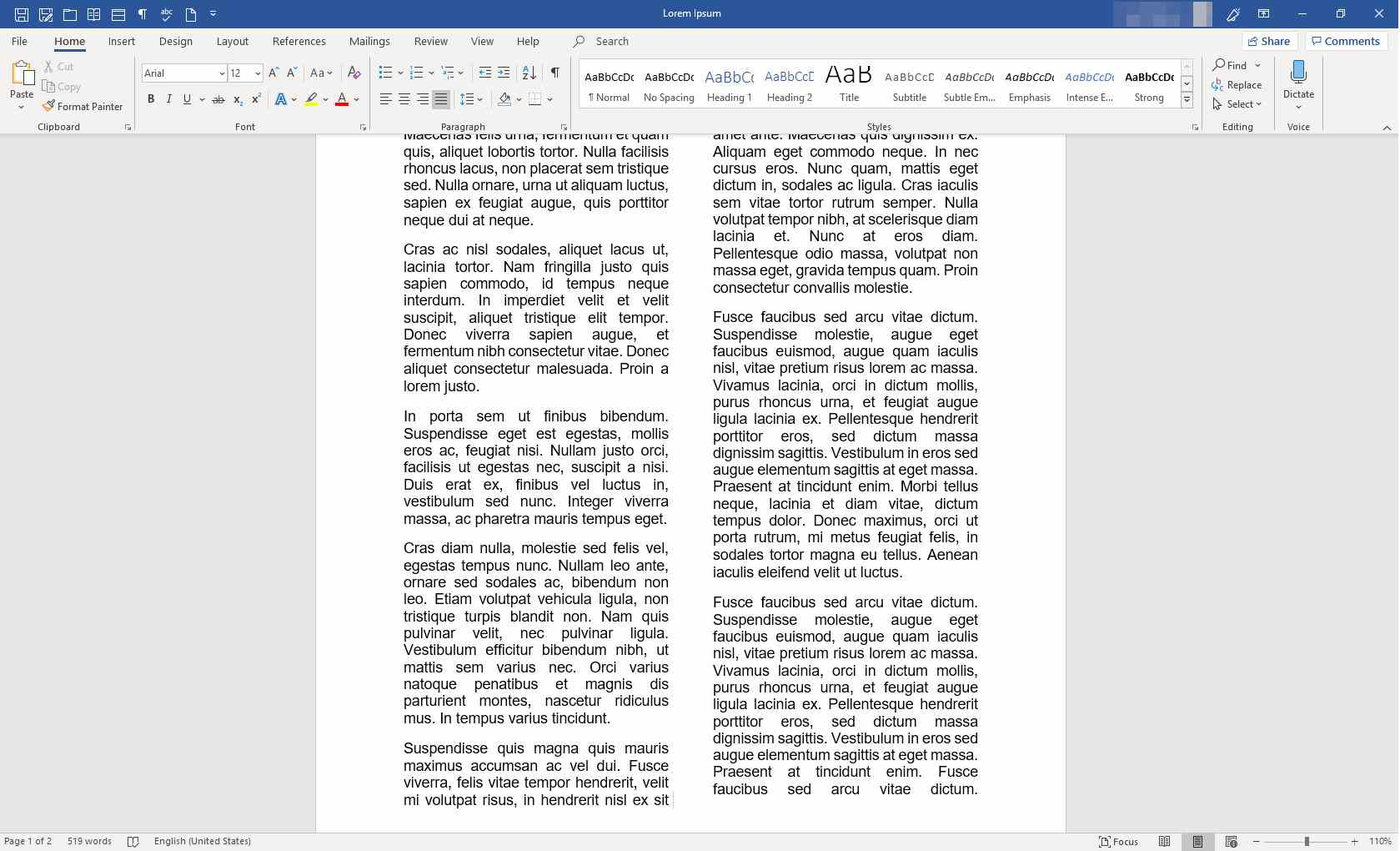 microsoft word highlight to end of document