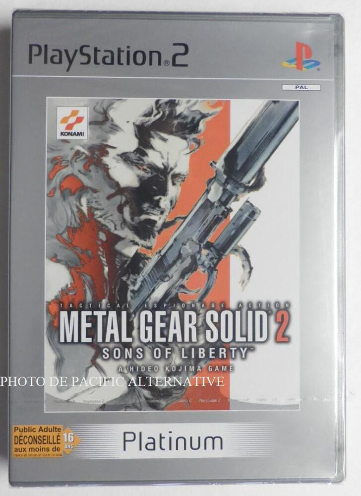 the document of metal gear solid 2 ps2