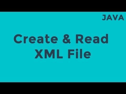 file to document xml java
