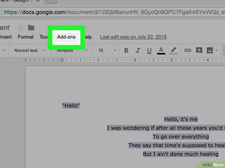 how do you put a word document into google docs
