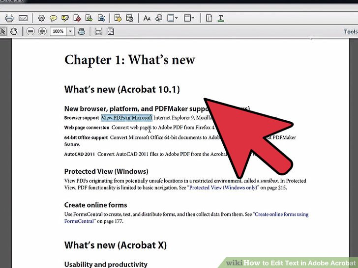 how do you edit a pdf document in adobe