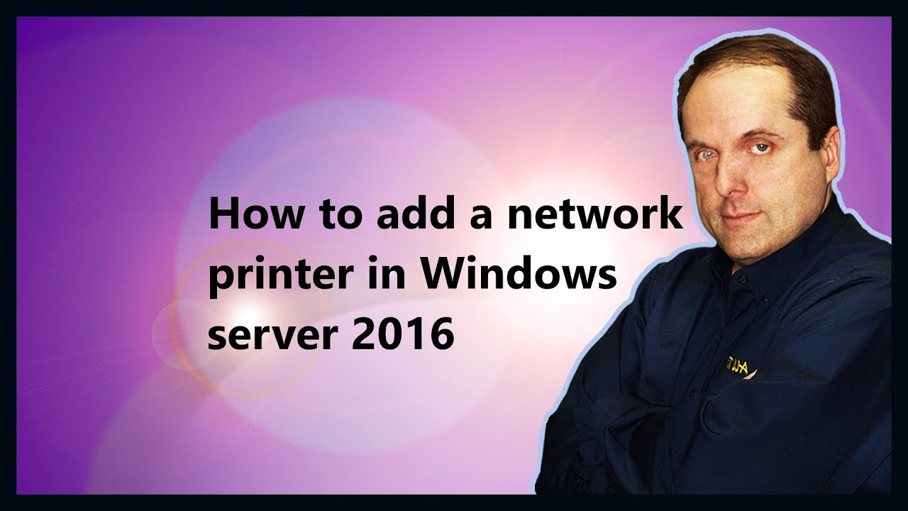 windows server 2016 print and document services