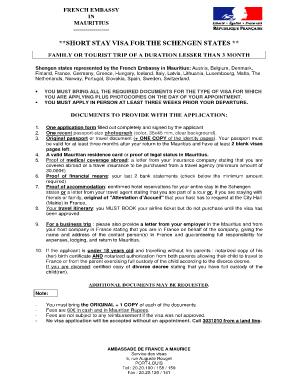 document visa france a montral