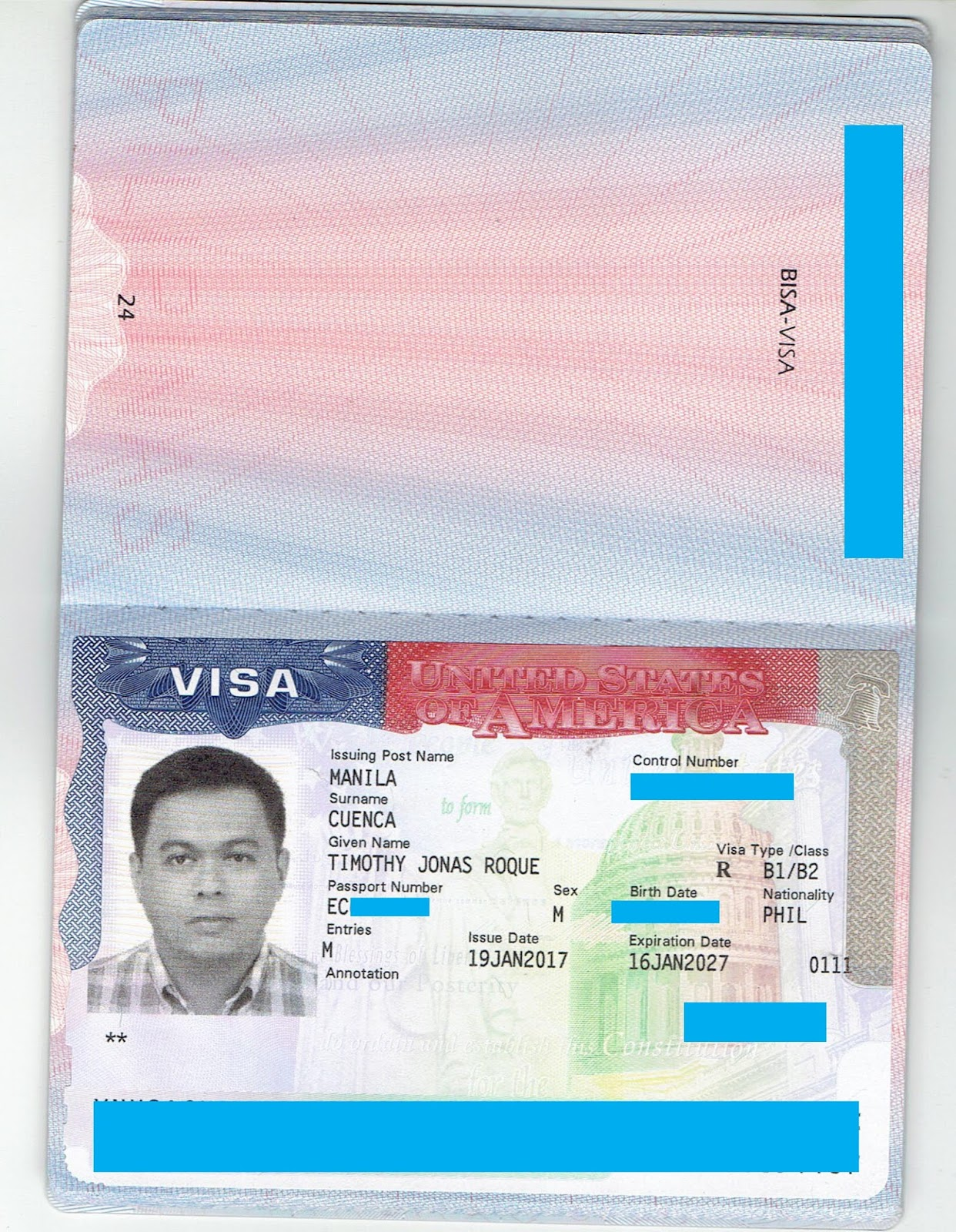 document status us travel docs