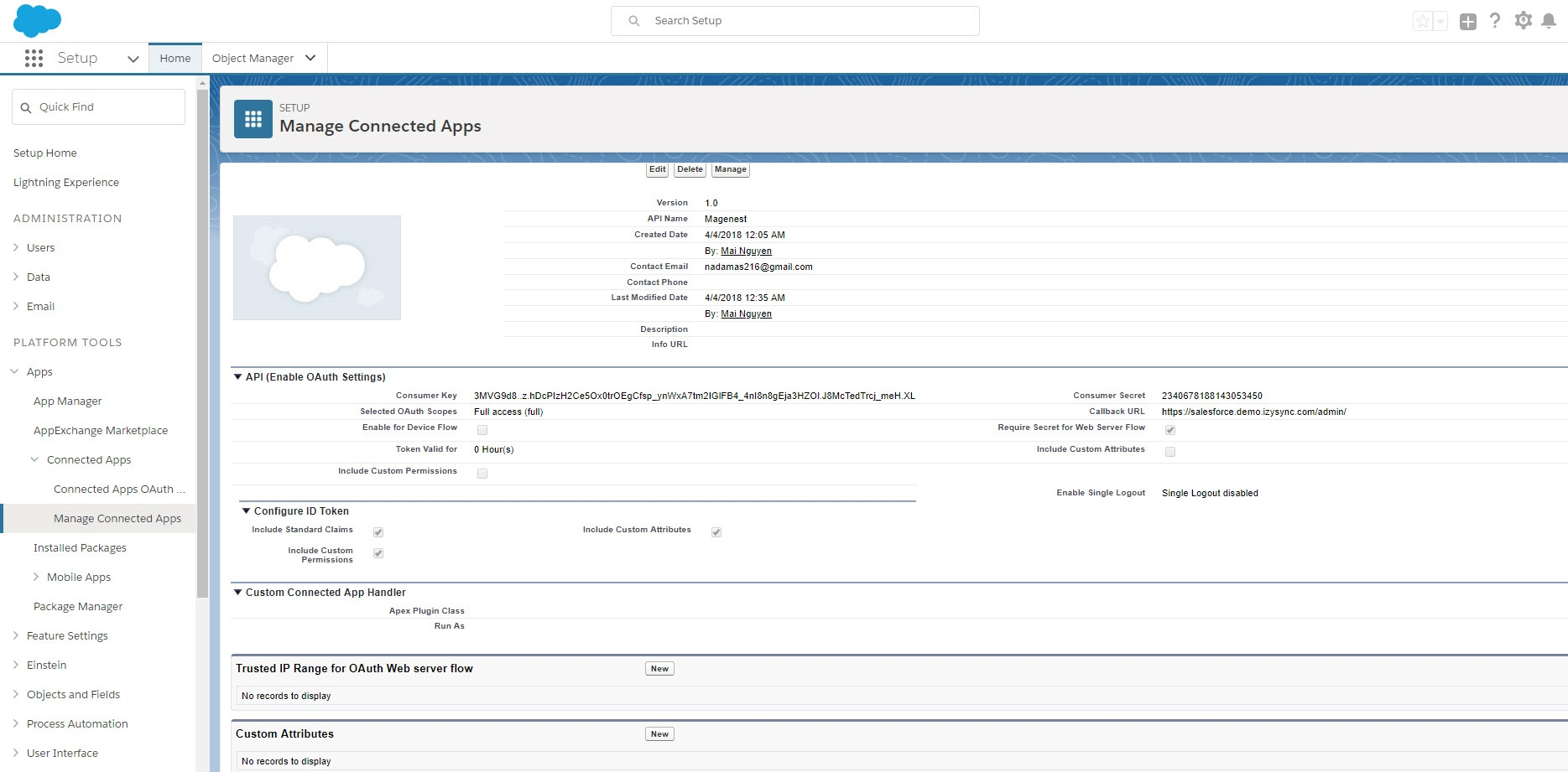 salesforce crm api documentation