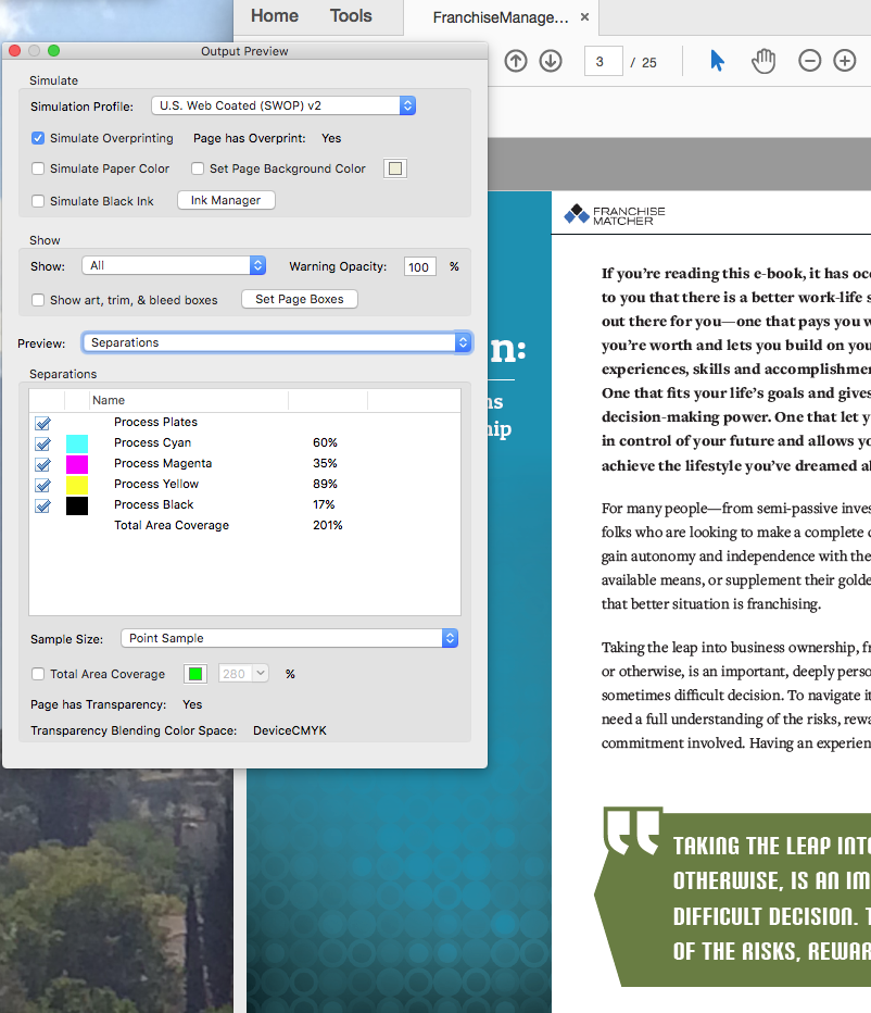 indesign how to print pdf in the document