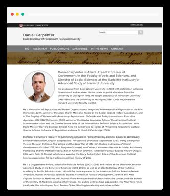 open scholar harvard documentation