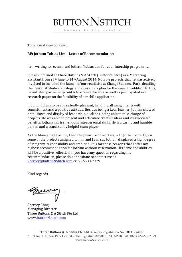 permanent residence document letter of employer