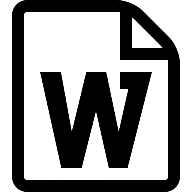 microsoft word document icon download