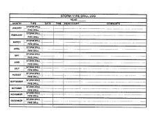 fire drill documentation form