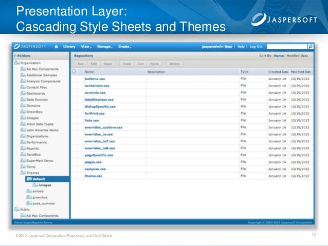 jasperserver rest api documentation