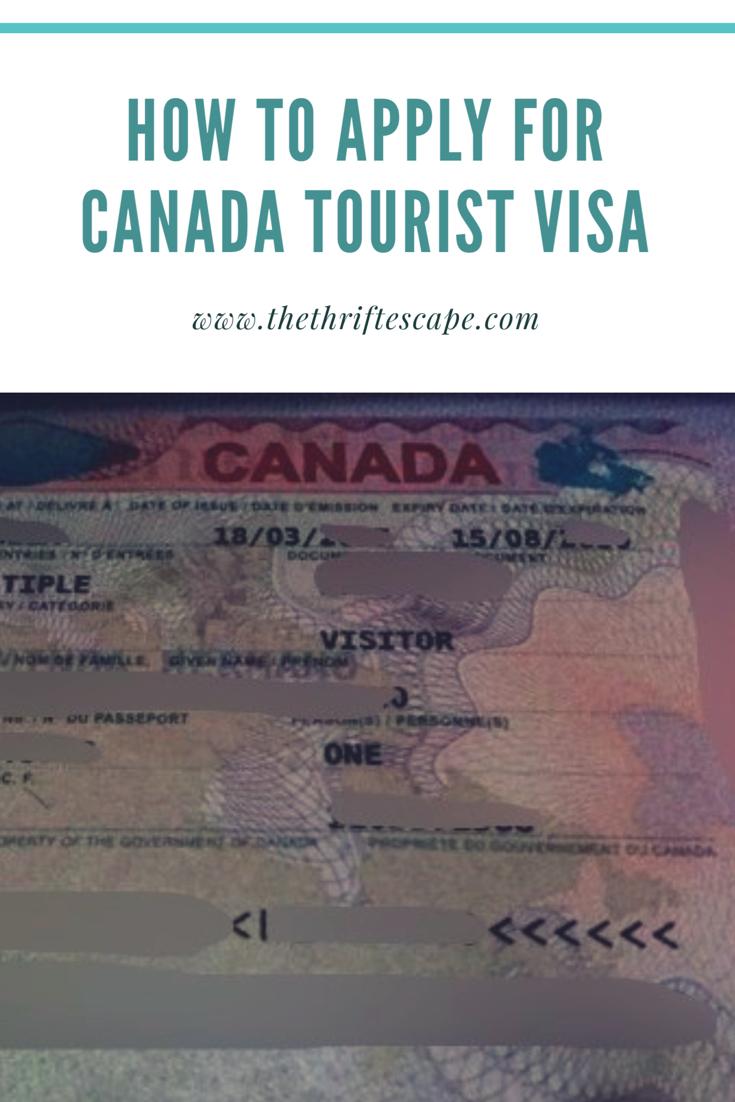 document checklist for visitors visa canada