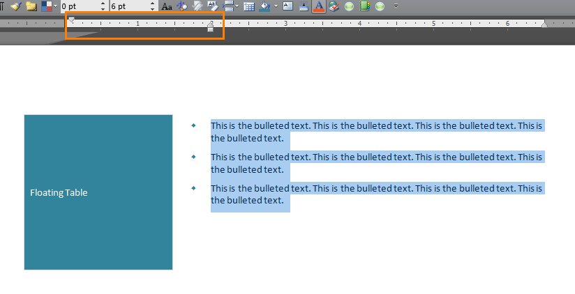 wpf flow document list indent