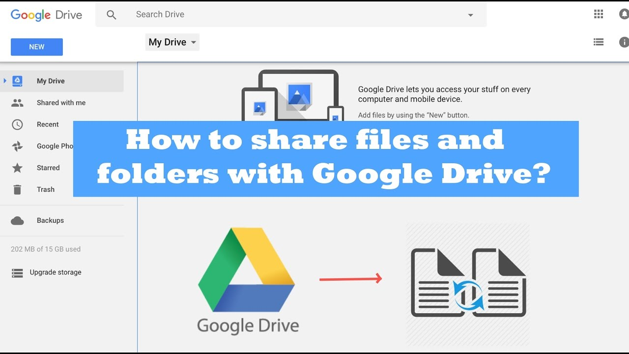 how to create shared document