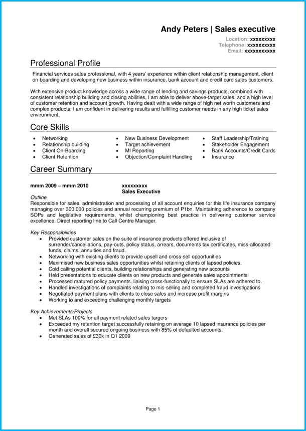 1 page top line pitch document example