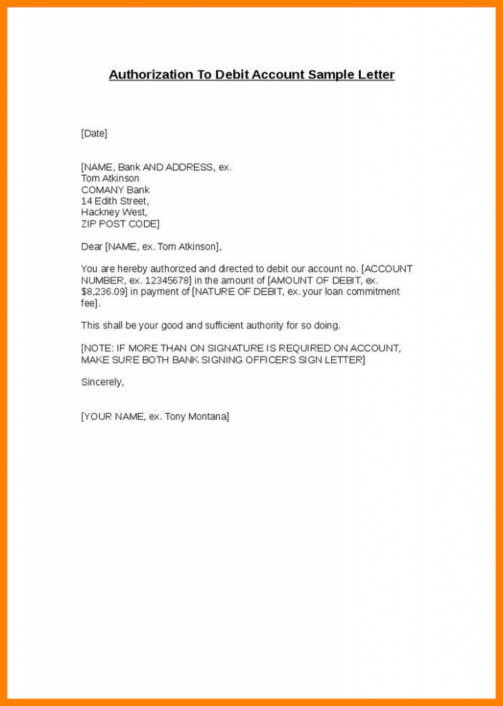 sample authorization letter to collect document on behalf
