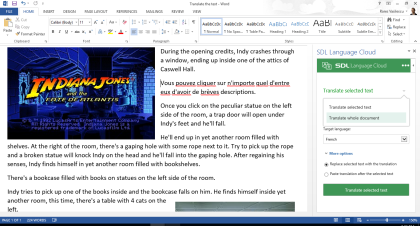 how to replace certain words in word document