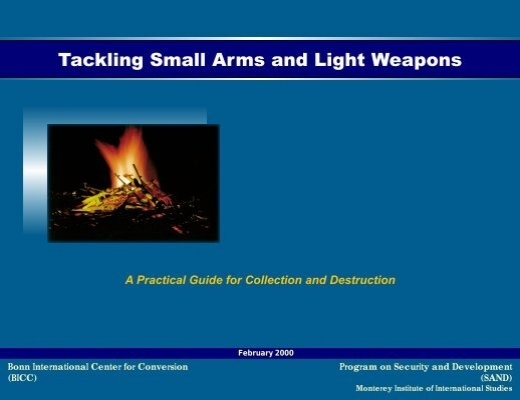 document on small arms and light weapons 2000