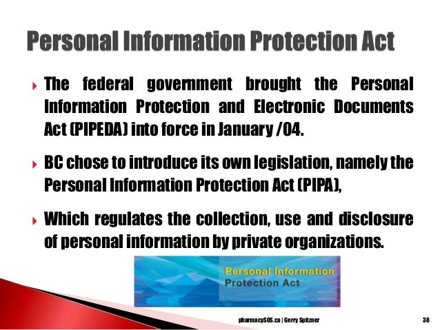 privacy act bc document retention