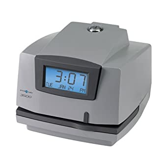 pyramid 3500 multipurpose time clock & document stamp
