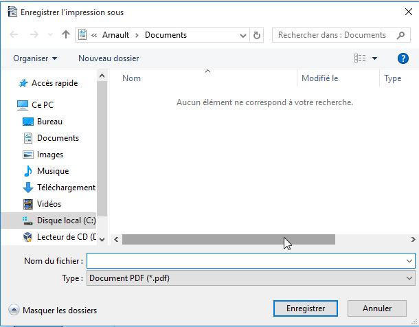 comment convertir document en pdf