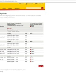 dhl world document express tracking