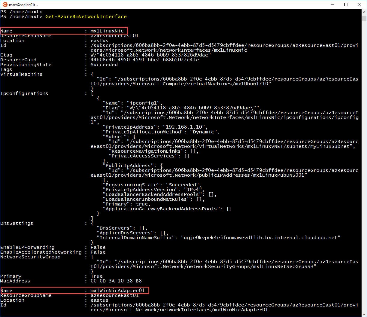 bash script documentation example