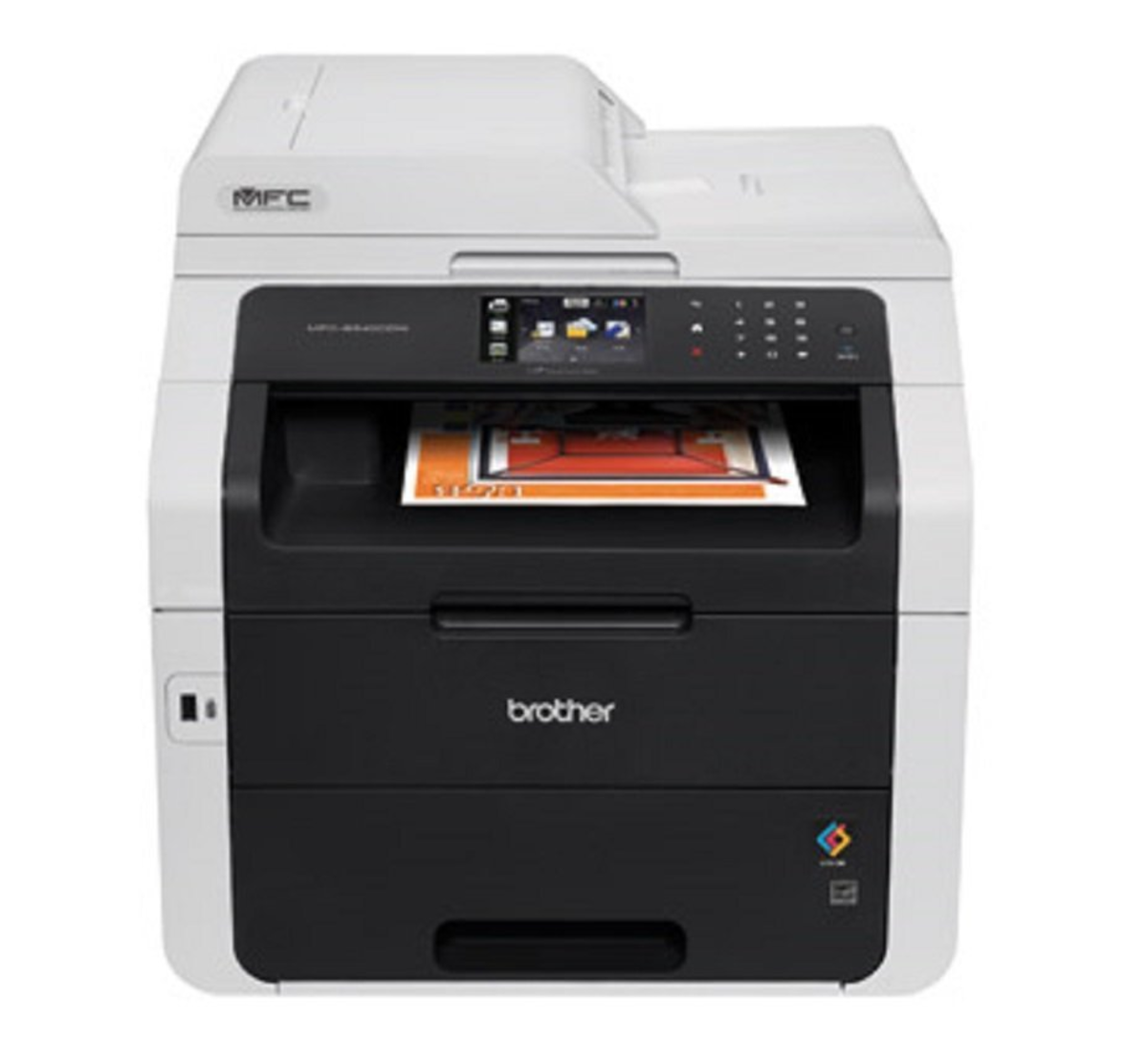 brother dcpl2520dw scanner document with more than on page