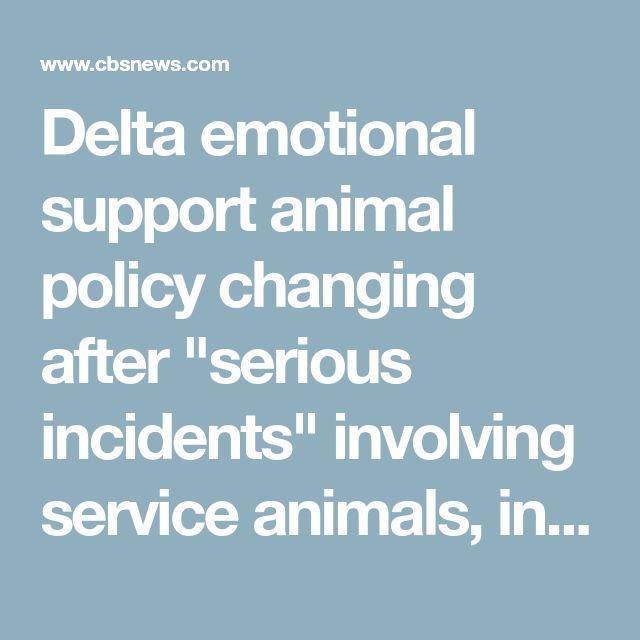 delta emotional support animal documentation