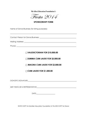 document checklist for sponsored spouse