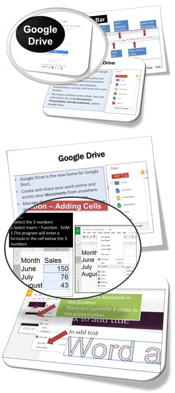 google drive add a linked document