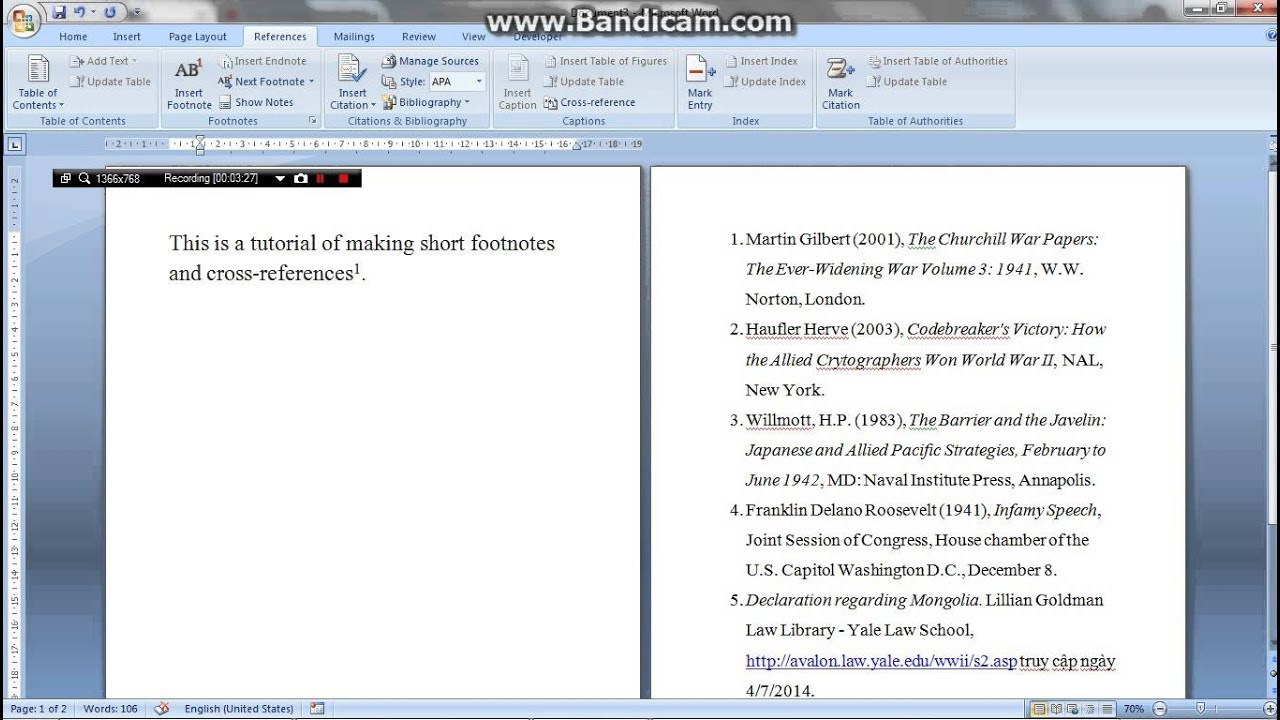 how to extract references from word document