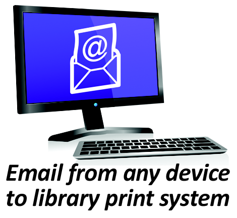 how to print a document from library