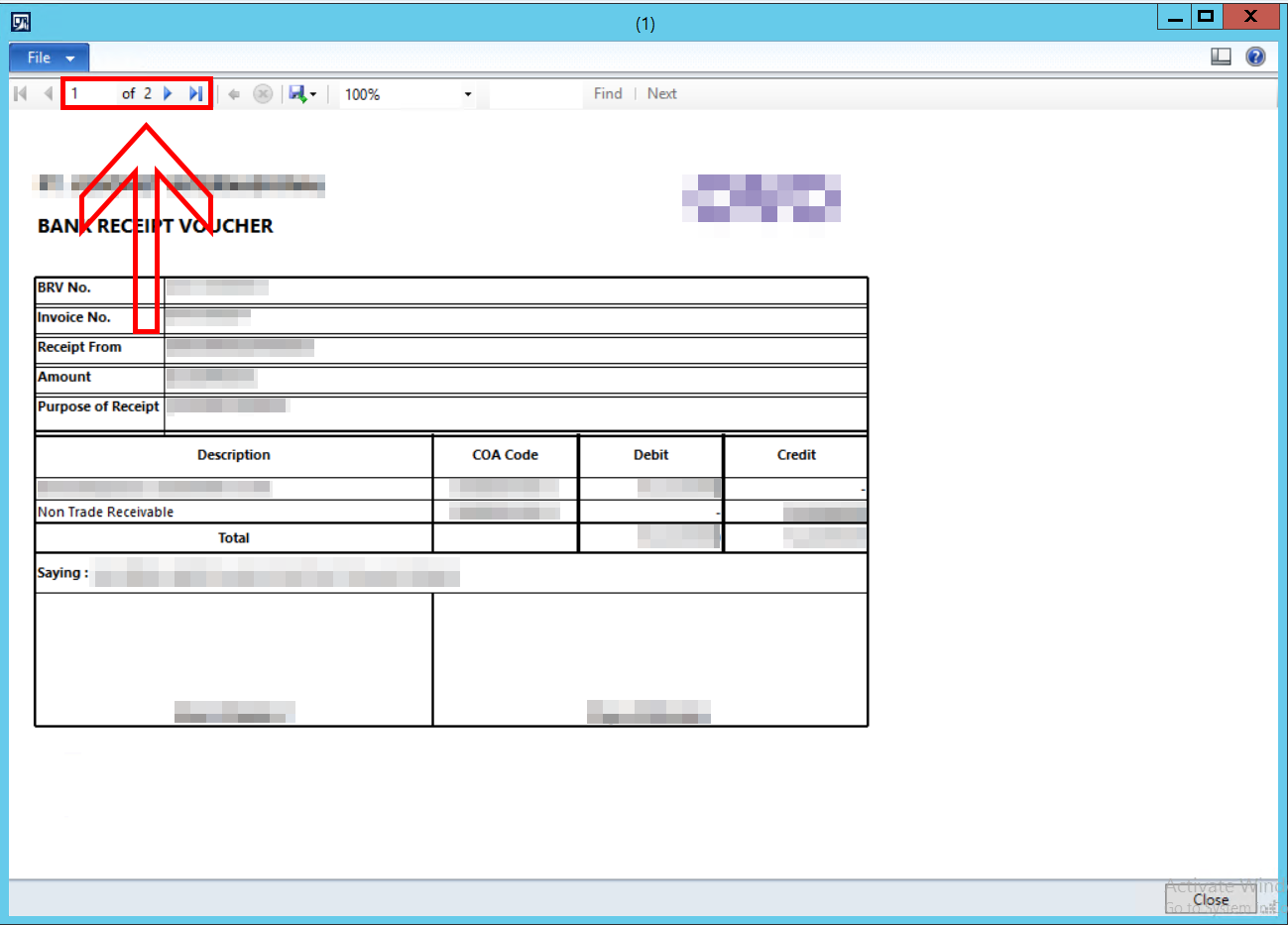 how to remove a blank page from a pages document