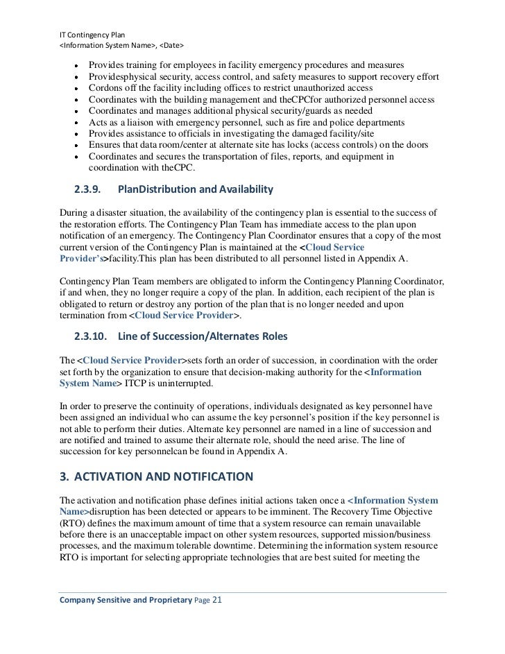 information technology strategy document template