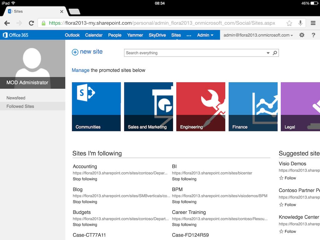 office 365 sharepoint online document management