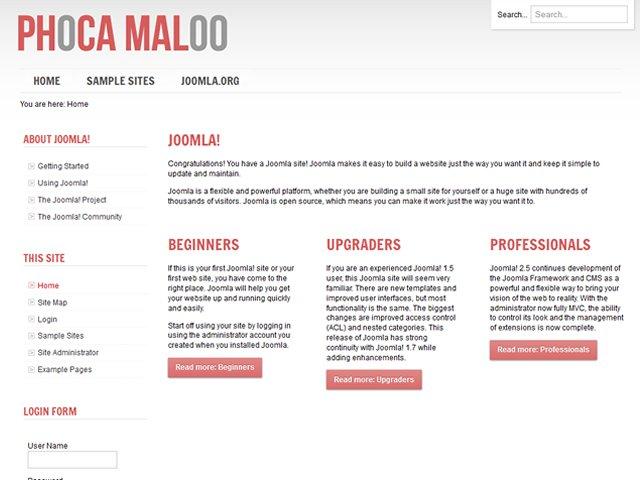phoca gallery joomla documentation