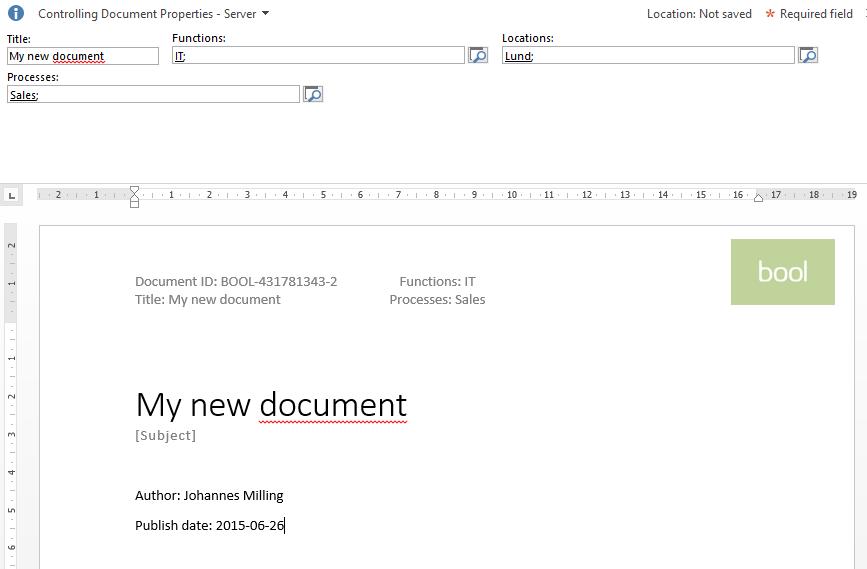 sharepoint solution design document template