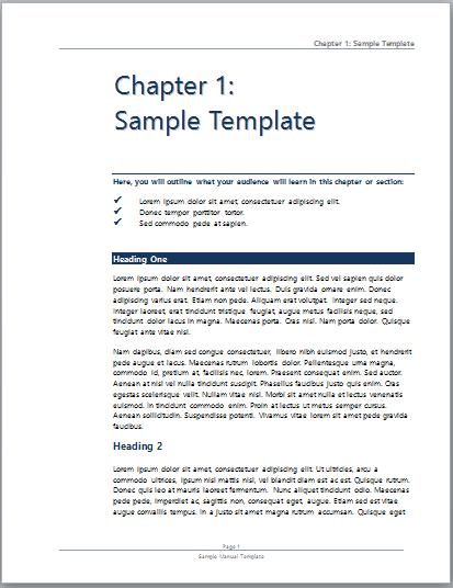 technical documentation template doc
