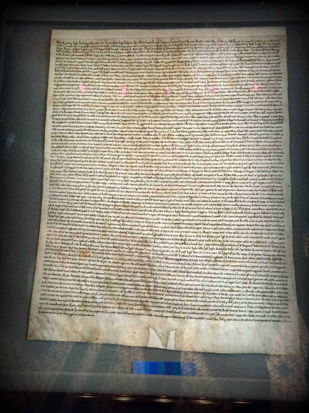 why is the magna carta an important document